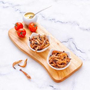 Crevettes grises de pays