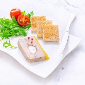 Foie gras au coeur de Homard
