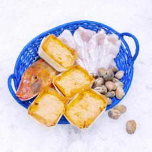 Panier La Piriacaise pour 4 pers /4 repas